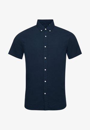 SEERSUCKER - Shirt - eclipse navy