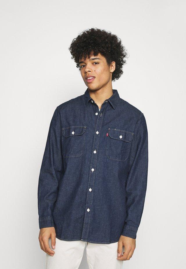 JACKSON WORKER - Shirt - dark indigo