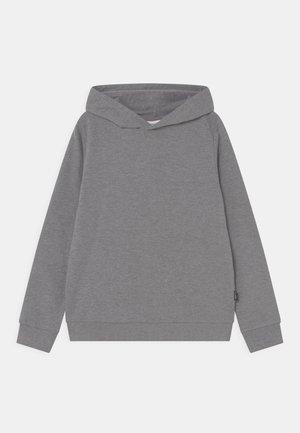 NKFNASWEAT HOOD - Sweater - grey melange