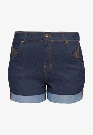 Denim shorts - dunkelblau