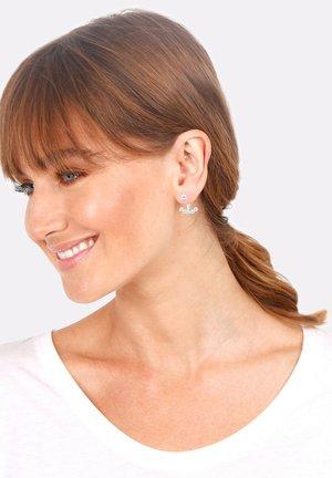 EAR JACKET - Earrings - silver-coloured
