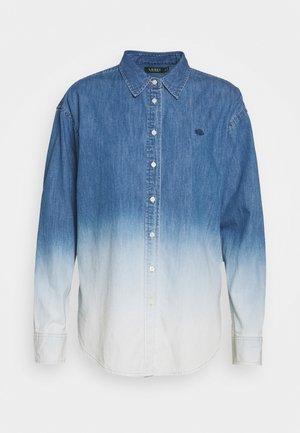 ULTRA - Camisa - dipped indigo wash