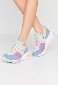 Steve Madden - CLIFF - Sneakers - blue/mint - 0