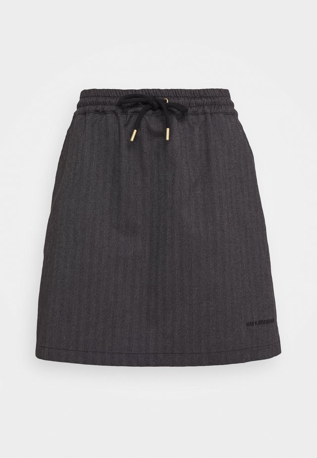TRACK SKIRT - Gonna a campana - grey