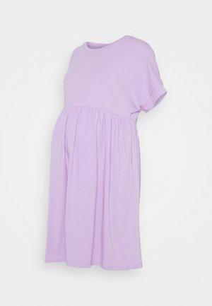PCMCALLY DRESS - Jerseykjoler - orchid bloom