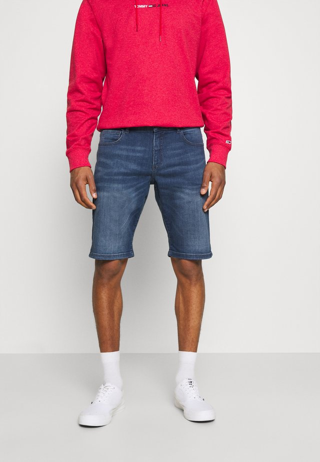 LODGER - Shorts di jeans - stone used