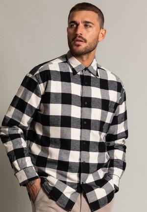 LEIGHTEN  - Shirt - schwarz/weiß