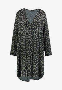 Grace - GEOMETRIC FLOWERS - Vestido informal - darkgreen - 3