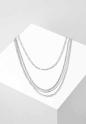 LAYERING NECKLACE VALERIA - Halskæder - silver-coloured