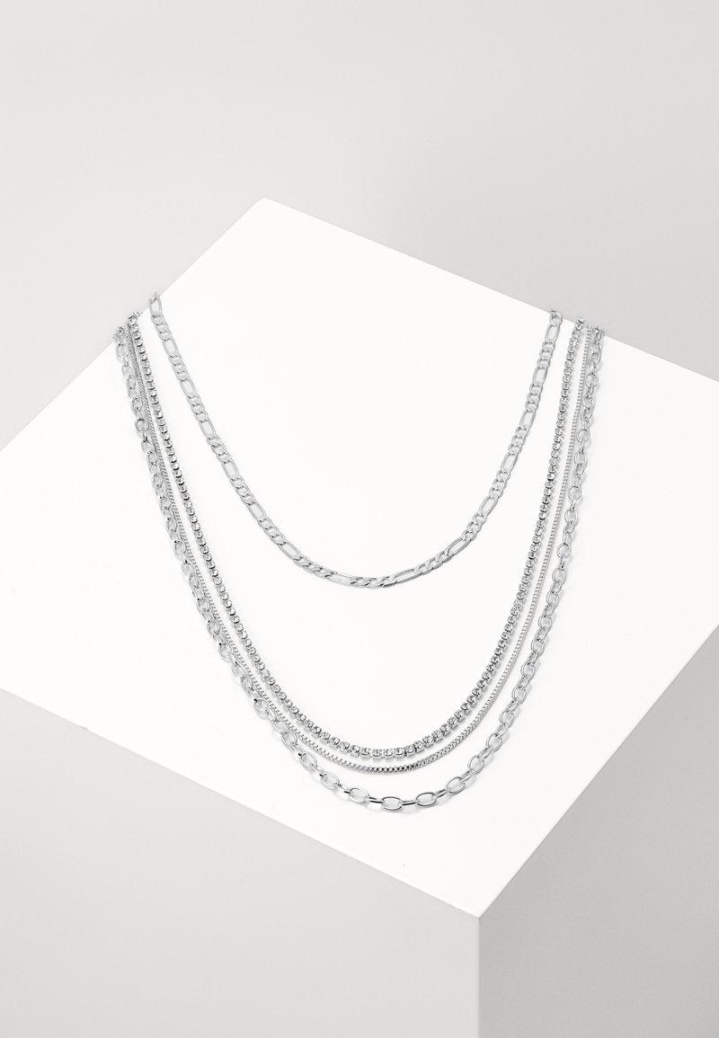 Urban Classics - LAYERING NECKLACE VALERIA - Collier - silver-coloured