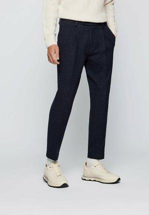 C-PERIN-PLEAT - Pantaloni eleganti - dark blue