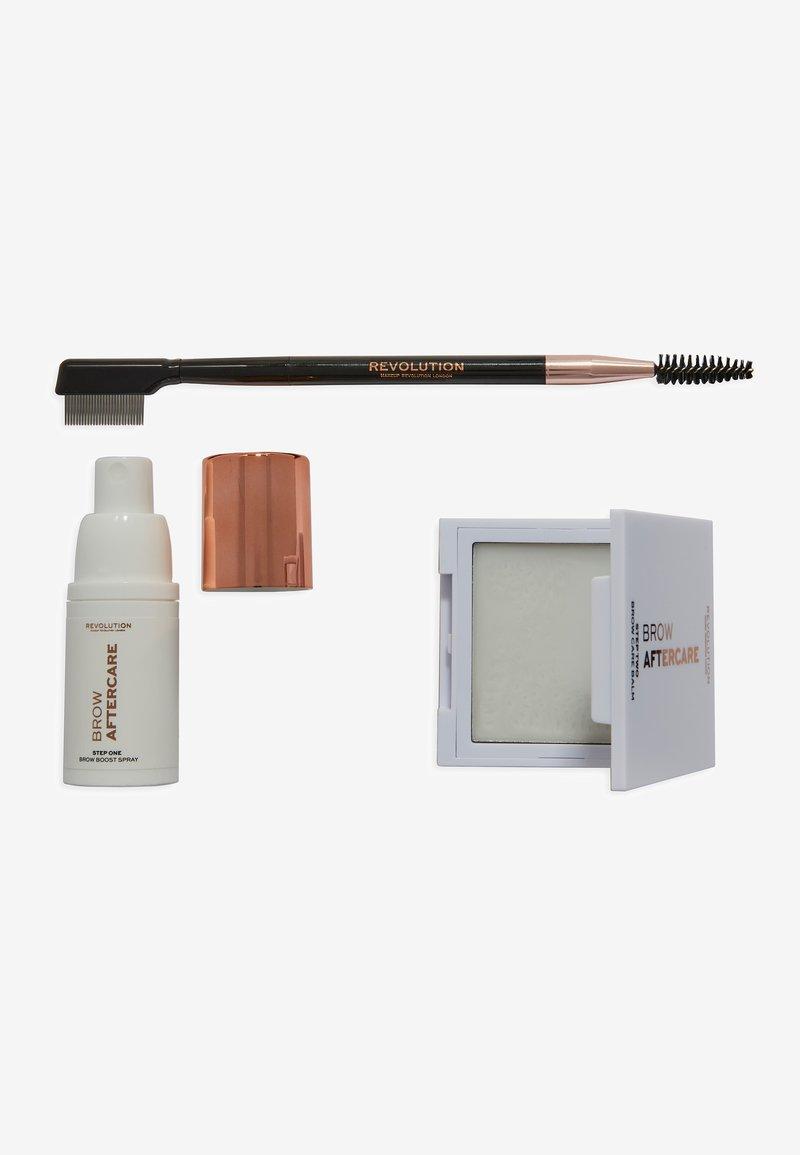 Makeup Revolution - REVOLUTION BROW LAMINATION AFTERCARE & GROWTH SET - Makeup set - -