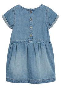 Next - DENIM POCKET DRESS (3MTHS-7YRS) - Sukienka letnia - blue - 1