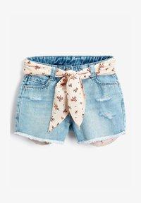 Next - Jeans Shorts - light-blue denim - 1