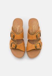 Panama Jack - VALENTINA GRASS - Pantofle na podpatku - vintage - 5