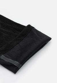 New Look - CANBERRA STRETCH BLOCK HEEL - Cuissardes - black - 5