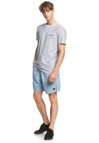 Quiksilver - KENTIN - Print T-shirt - white - 1