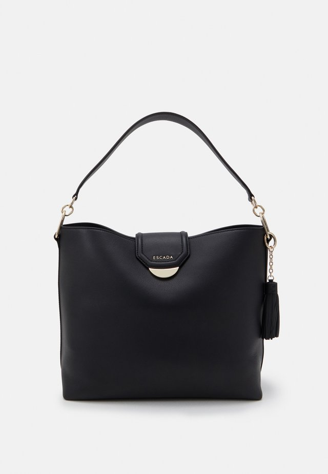 SHOULDER BAG - Shopping bag - black
