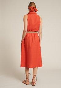 Luisa Spagnoli - PROVA - Shirt dress - arancio - 2