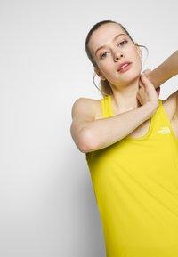 The North Face - WOMENS FLEX TANK - Sports shirt - lemon - 3