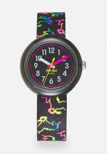 DISCO UNICORN - Watch - black
