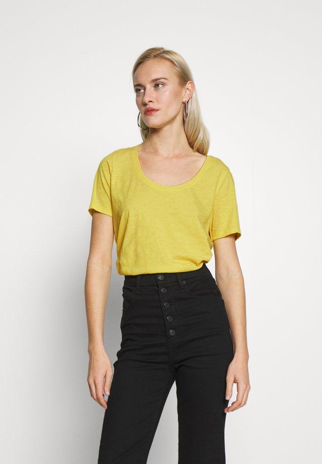 SHORT SLEEVE ROUND NECK - T-shirt basique - sunny lime