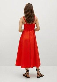Mango - Vestido informal - rojo - 2
