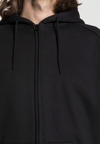 Urban Classics - ZIP HOODY - Zip-up sweatshirt - black - 4