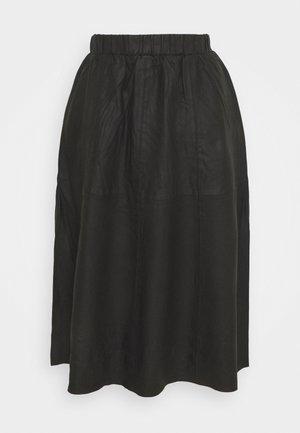 YASKALA SKIRT - A-line skirt - black