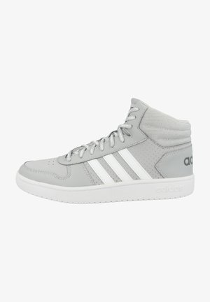HOOPS 2.0 MID - High-top trainers - grey two-footwear white-grey five