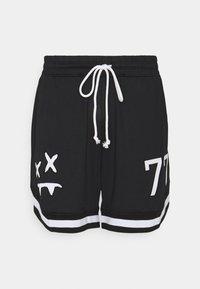 SIKSILK - AOKI BASEBALL - Shorts - black/white - 3