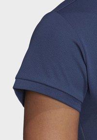 adidas Performance - CLUB POLO SHIRT - Polo shirt - blue - 7