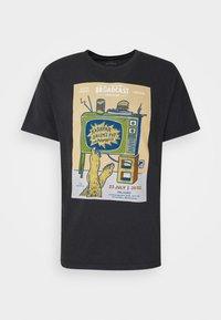 AMSTERDAM BROADCAST - Print T-shirt - black