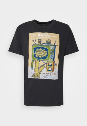 AMSTERDAM BROADCAST - T-shirts med print - black