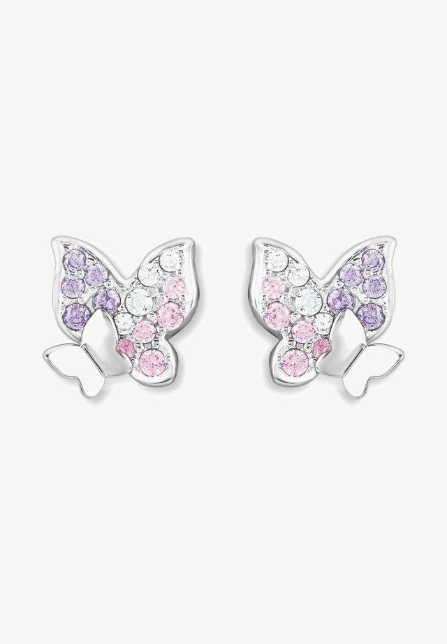 Earrings - lila