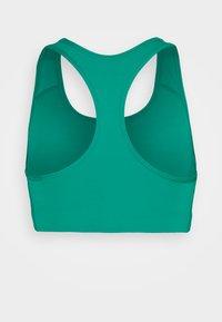 Nike Performance - NON PADDED BRA - Medium support sports bra - neptune green/white - 1