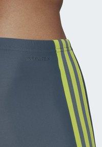 adidas Performance - TRIPES SWIM BOXERS - Uimashortsit - blue - 5