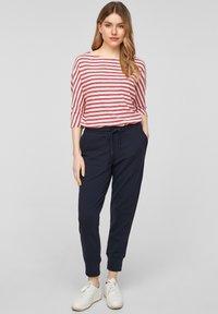 s.Oliver - Longsleeve - red stripes - 1