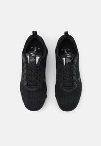 Nike Sportswear - AIR VAPORMAX FLYKNIT 3 UNISEX - Zapatillas - black/anthracite/white/metallic silver - 3