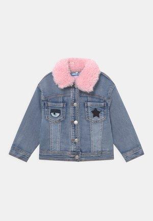 GIUBBOTTO EYESTAR - Denim jacket - blue denim