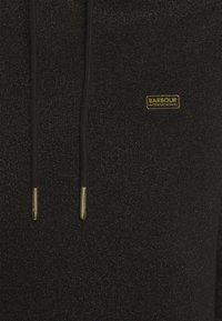 Barbour International - WHEELSPIN OVERLAYER - Hoodie - black - 5
