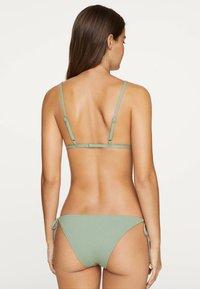 OYSHO - Bikiniöverdel - green - 1