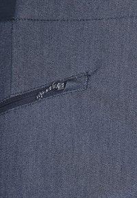 Salomon - WAYFARER ALPINE - Outdoor trousers - mood indigo/white - 2
