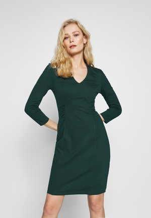 BASIC - Vestido de tubo - dark green