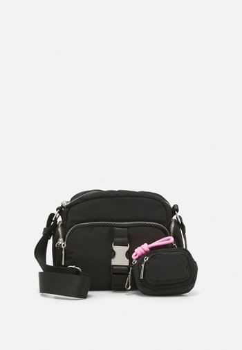 CROSSBODY BAG DAN M SET - Across body bag - black