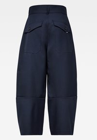 G-Star - 3D WIDE CROP - Trousers - naval blue - 1