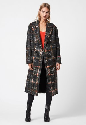 LOTTIE CAMO - Classic coat - black