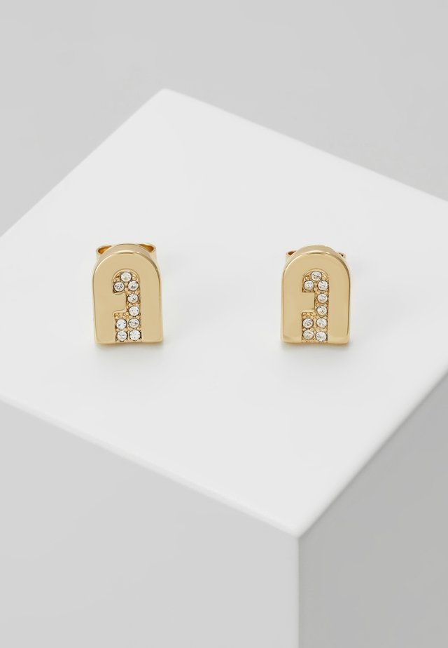 NEW STUD EARRING - Boucles d'oreilles - gold-coloured