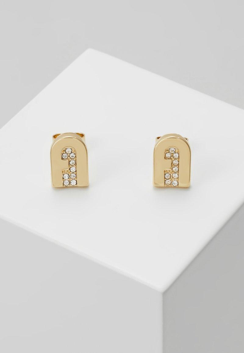 Furla - NEW STUD EARRING - Náušnice - gold-coloured