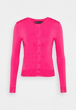 CREW CARDI PLAIN - Vest - pink